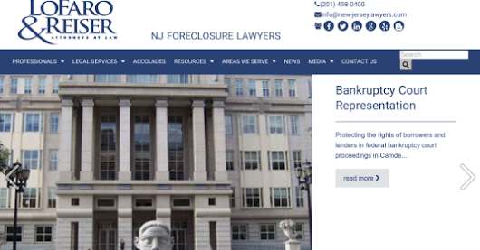 New Jersey Foreclosure Attorneys Microwebsite Launched