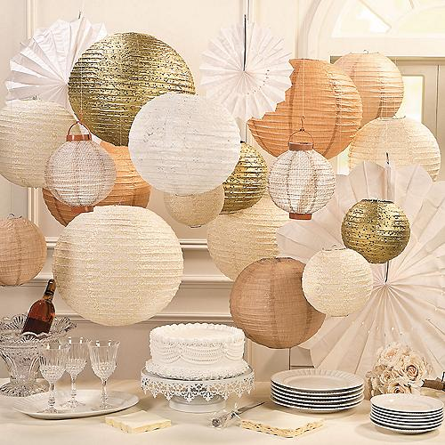 Paper Lanterns Wedding Decoration Ideas: Around The World...: Wedding Decos