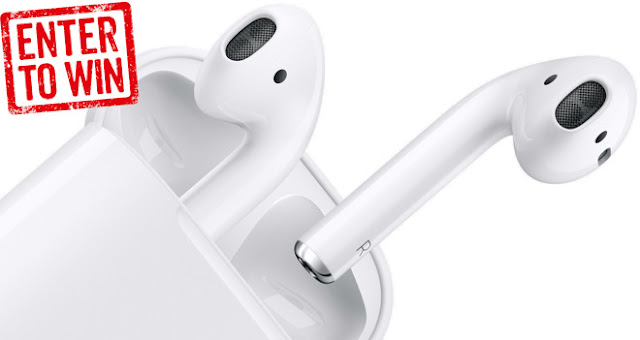 Win Apple AirPods Giveaway