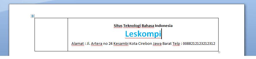Mulai dari menggunakan aplikasi editing gambar 2 Tutorial Membuat Kop Surat Di Microsoft Word 2007 (Berhasil!)