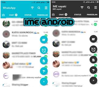 Mengaktifkan whatsapp dark mode