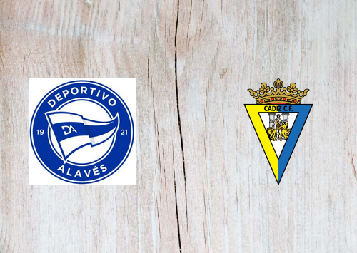 Deportivo Alavés vs Cádiz -Highlights 13 March 2021