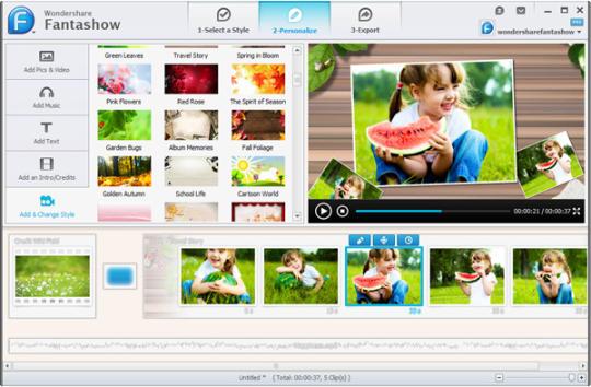 تحميل برنامج فيديو للصور ، برنامج صنع افلام ، برامج تصميم فيديو احترافي
