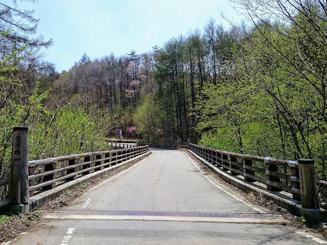 瑞牆山 釜淵橋