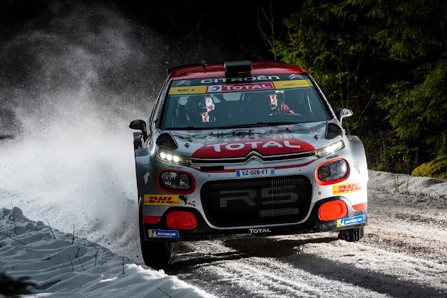 Swedish Rally 2020 Rally Car Driver Mads Ostberg