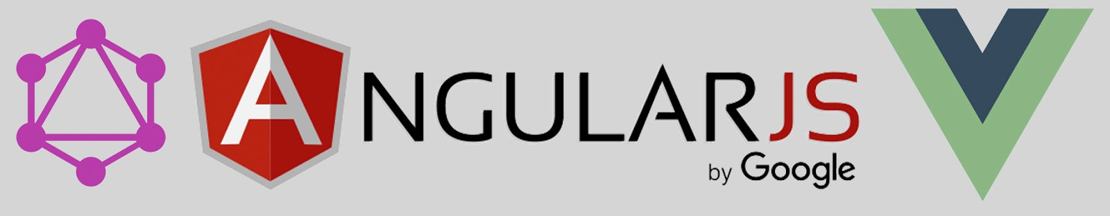 Logo Java Script Vue Angular dan GraphQL