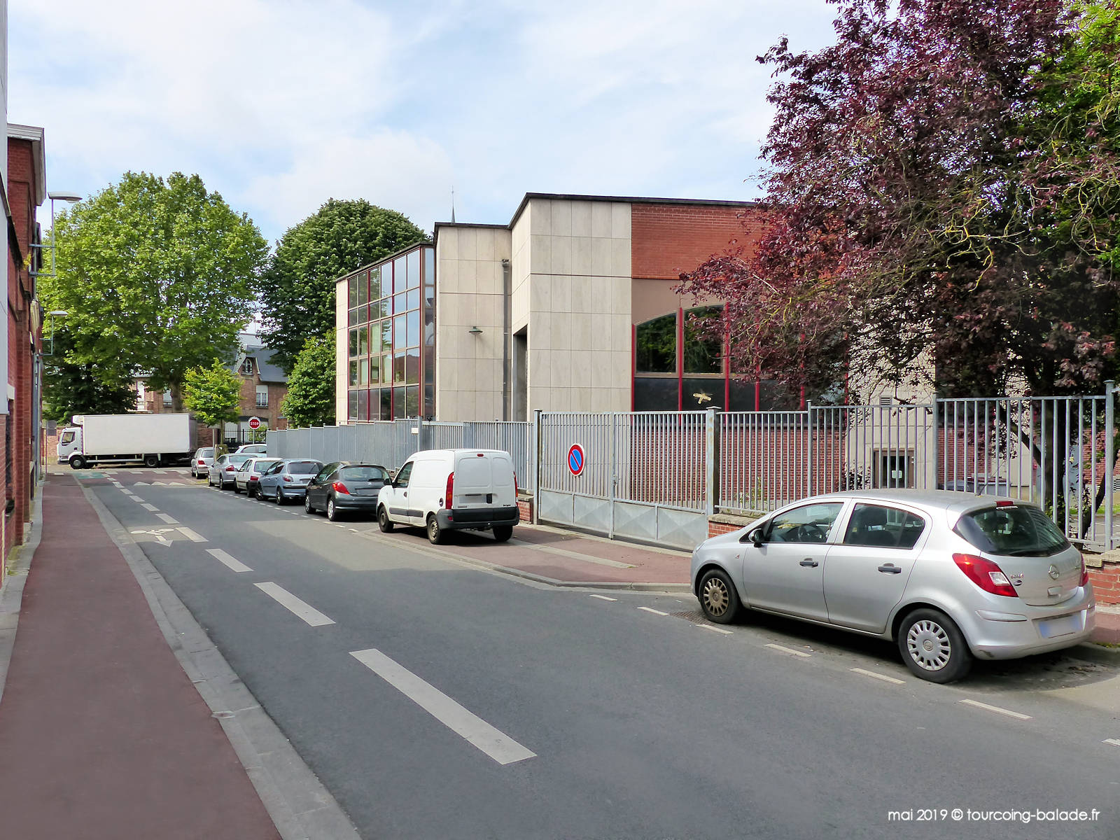 Archives municipales, Tourcoing, rue Guethem