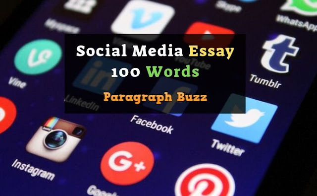 Social Media Essay 100 Words