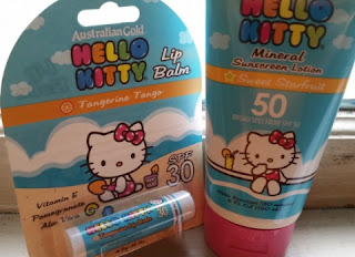 Hello Kitty Pack of Sunscreen and Lip Balm