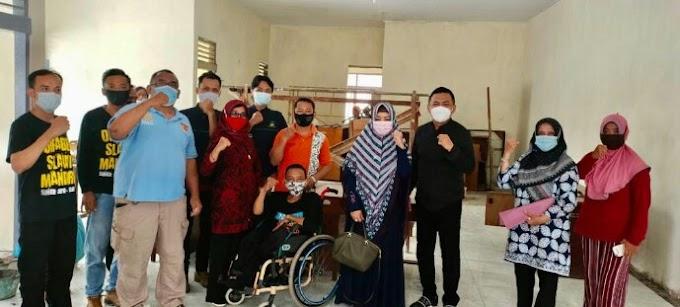 DeAr Akan Bantu Dirikan Yayasan dan BLK Khusus Untuk Penyandang Disabilitas di Tegal