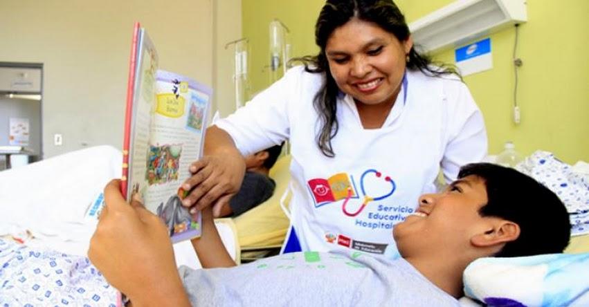 MINEDU: Estudiantes hospitalizados tendrán servicio gratuito de multiplataforma online