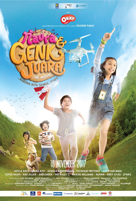 Naura & Genk Juara the Movie (2017) WEB-DL 1080p