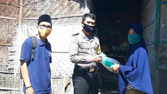 Selama 4 Hari, Polres Lotim Sudah Salurkan Beras Bantuan Mabes Polri Sebanyak 3.630 Kg