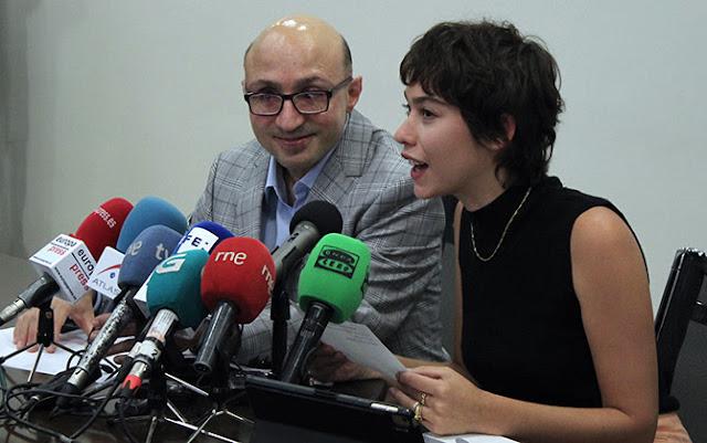Jesús Vidal y Greta Fernández