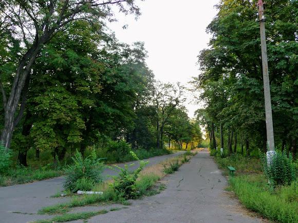 Авдіївка. Парк культури залізничників