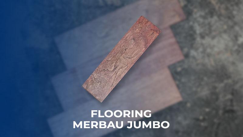 flooring merbau jumbo