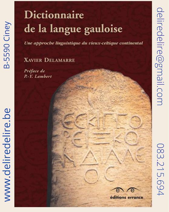 DICTIONNAIRE-LANGUE-GAULOISE-DELAMARRE-ERRANCE-OCCASION