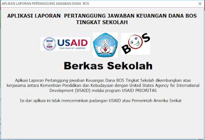aplikasi laporan pertanggung jawaban keuangan BOS tingkat sekolah