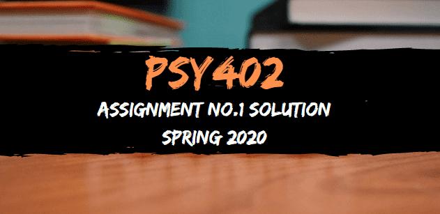 PSY 402