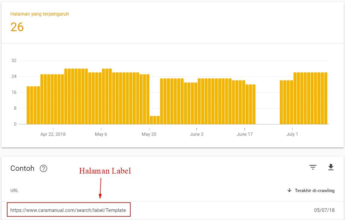 Halaman yang diindeks meski diblokir robots txt