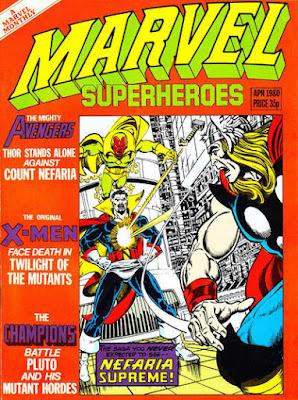 Marvel Superheroes #360, Count Nefaria