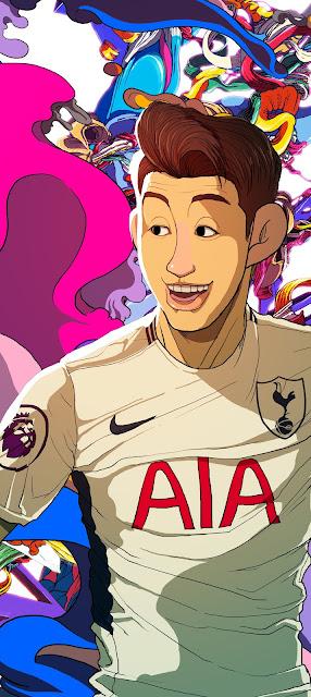 Fascinantes-Ilustraciones-jugadores-Premier-League-Sakiroo-Choi