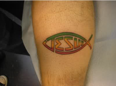 jesus fish tattoos designs and meanings