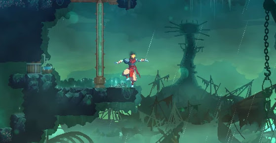 Dead Cells: Fatal Falls game level