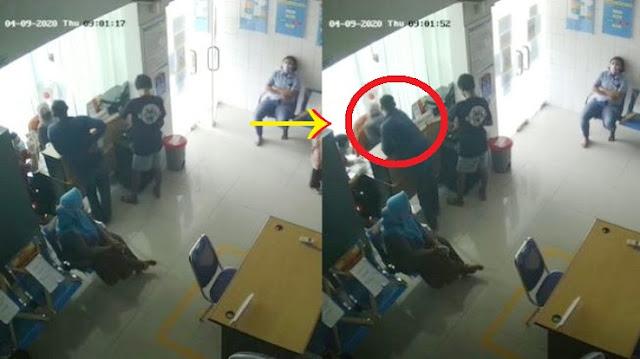 Diingatkan Karena Tak Pakai Masker, Pria Ini Malah Tampar Wajah Perawat