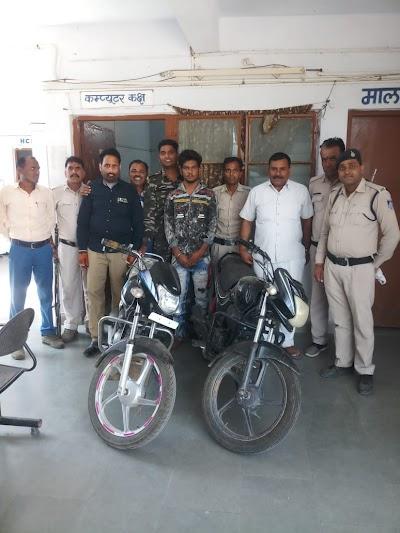 चोरी की दो मोटरसायकिल सहित एक आरोपी को किया गिरफ्तार | Dinara News