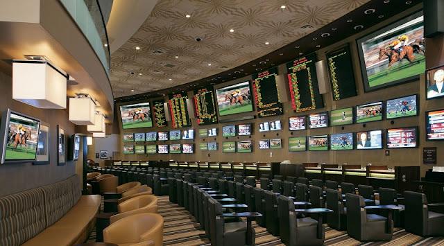 Jogos no hotel MGM Grand em Las Vegas