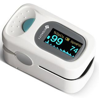 PulsiOxímetro de Dedo y Monitor de Frecuencia Cardíaca