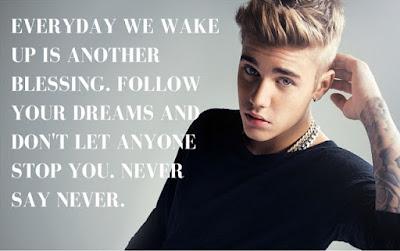 Top Justin Bieber Quotes