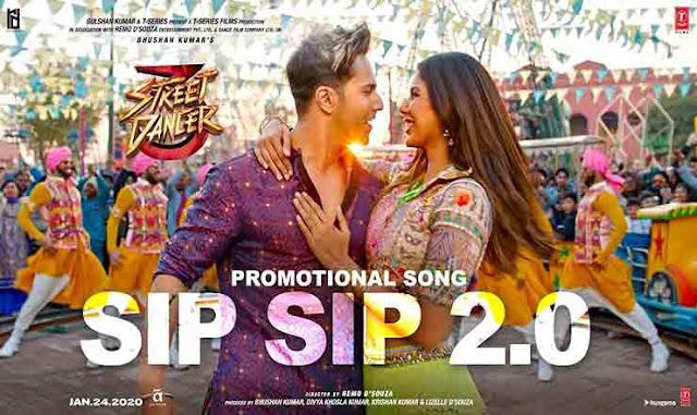Sip Sip 2.0 Lyrics in Hindi I STREET DANCER 3D I GARRY SANDHU I TANISHK BAGCHI