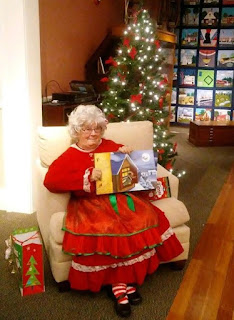 Story time with Mrs Claus at the Franklin Historical Museum - Dec 1