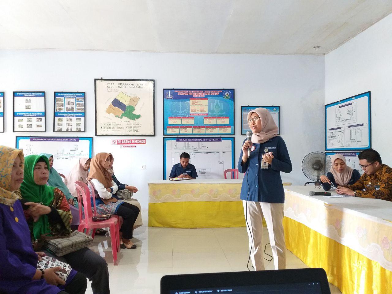 BPJS Kesehatan Cabang Watampone Laksanakan Sosialisasi di Kelurahan Biru, Ini Tujuannya
