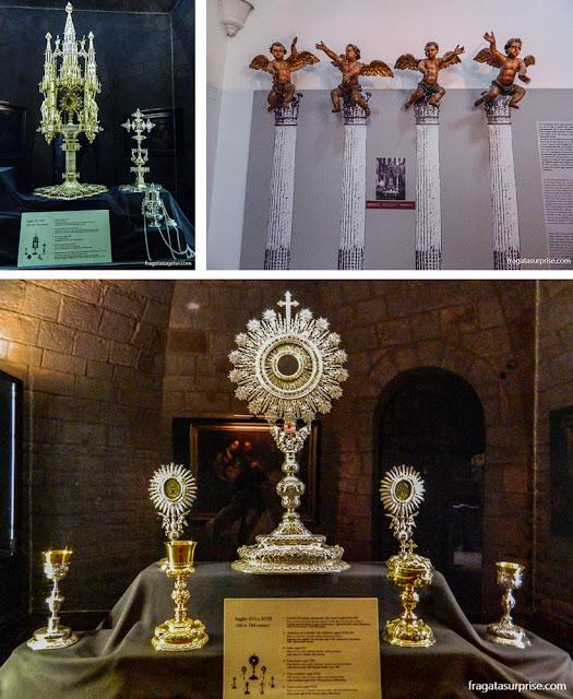 Peças do Museu da Igreja de Santa Maria del Pi, Barcelona