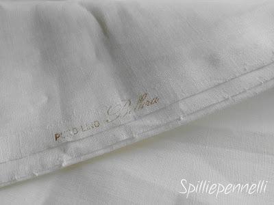 camicia da uomo in lino