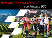 """Logo Prosecco DOC """"Indovina il podio MotoGP"""" : vinci gratis soggiorni e bottiglie"""