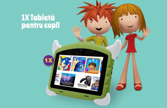 Concurs - Castiga o tableta pentru copii - concursuri - online
