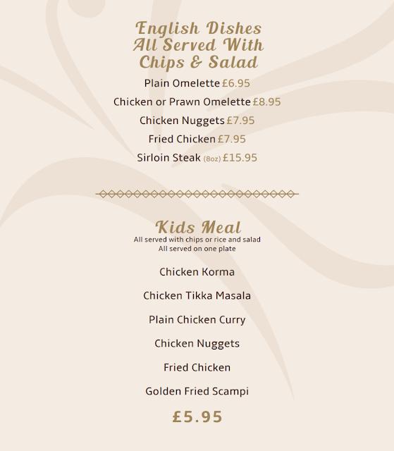 Asmara Blyth Review - kids menu