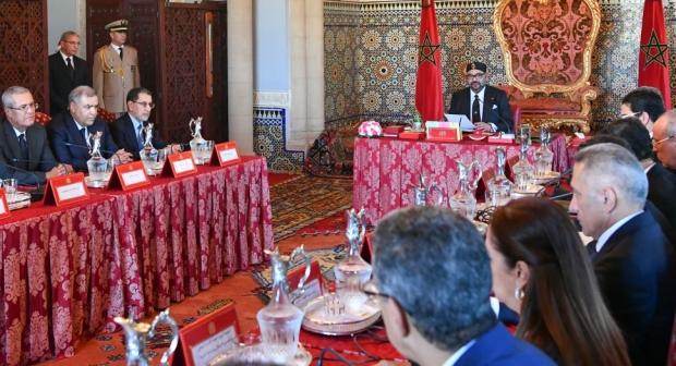 جلالة الملك محمد السادس نصره الله يترأس مجلسا للوزراء يوم الإثنين