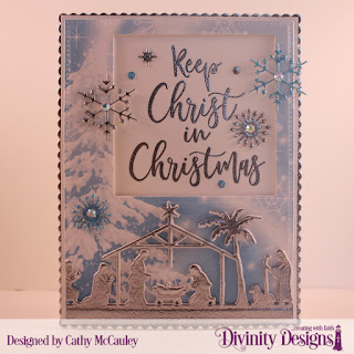 Stamp Set:  Keep Christ Paper Collection:  Christmas Collection 2019 Custom Dies:  Pierced Rectangles, Scalloped Rectangles, Christmas Dove, Holy Night, Squares