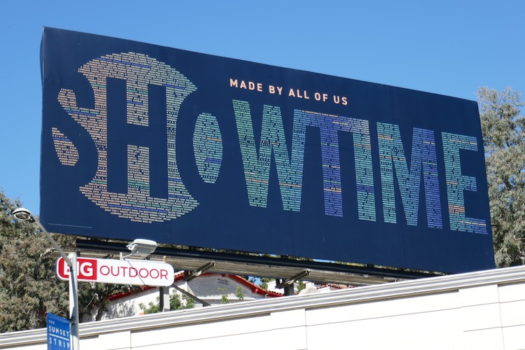 Showtime Made by all of us billboard