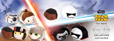 Star Wars: The Force Awakens Tsum Tsum Plush Series by Disney