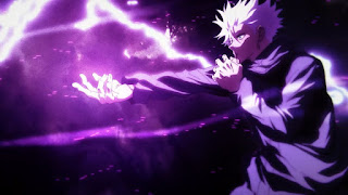 "Hellominju.com : 呪術廻戦アニメ 『五条悟(CV.中村悠一)』   虚式 ""茈""   Jujutsu Kaisen   Gojo Satoru   Hello Anime !"