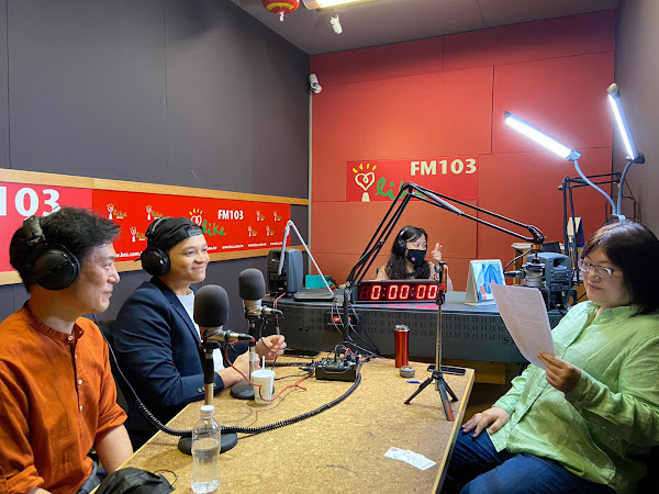 Fred與Jason Wang兩位首席導師上廣播節目宣傳《料理之王》