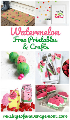 free Watermelon printables