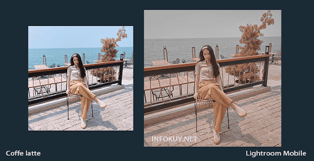Tutorial Lightroom Coffe Latte