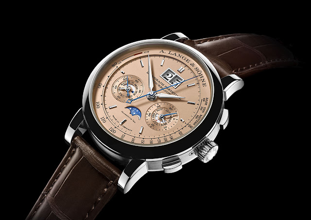 A. Lange & Söhne Datograph Perpetual Tourbillon with pink-gold dial